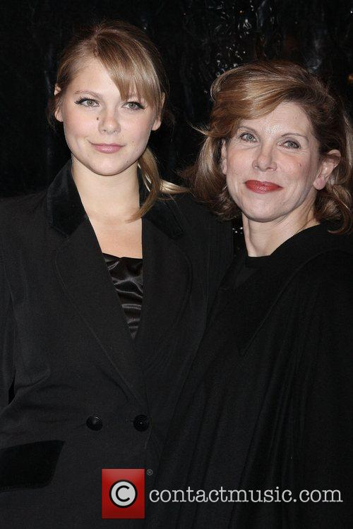 Lily Cowles, Christine Baranski Premiere of 'Frost/Nixon' at...