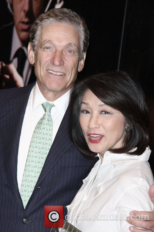 Maury Povich, Connie Chung Premiere of 'Frost/Nixon' at...