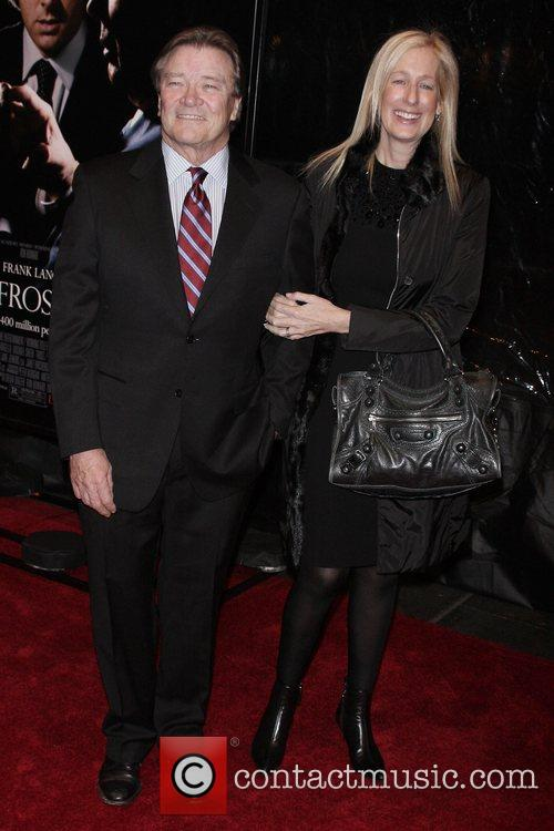 Steve Corft, Wife Premiere of 'Frost/Nixon' at the...