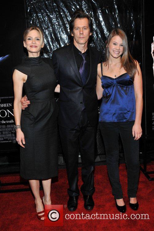 Krya Sedgwick, Kevin and Sosie Bacon