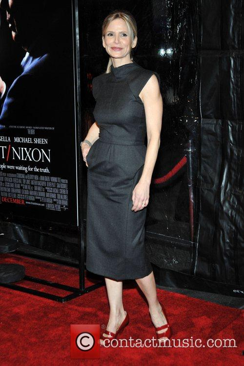 Kyra Sedgwick at the premiere of 'Frost/Nixon' at...