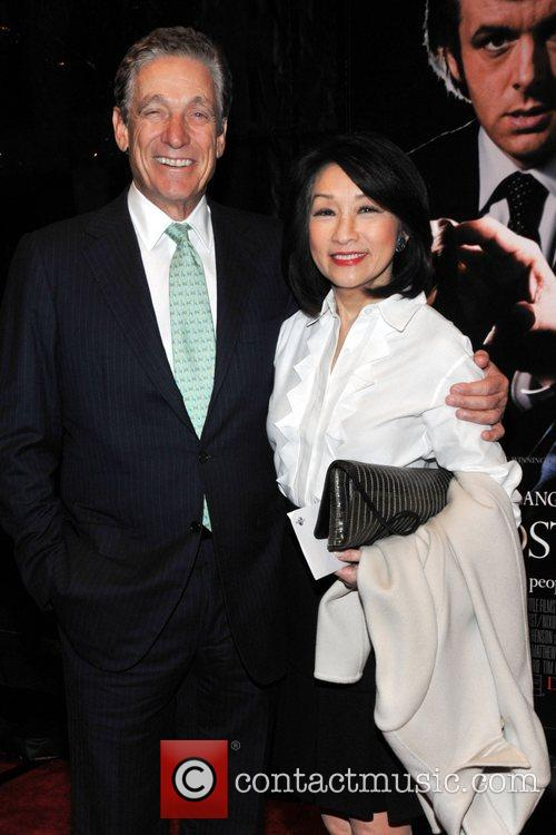 Maury Povich and Connie Chung  at the...