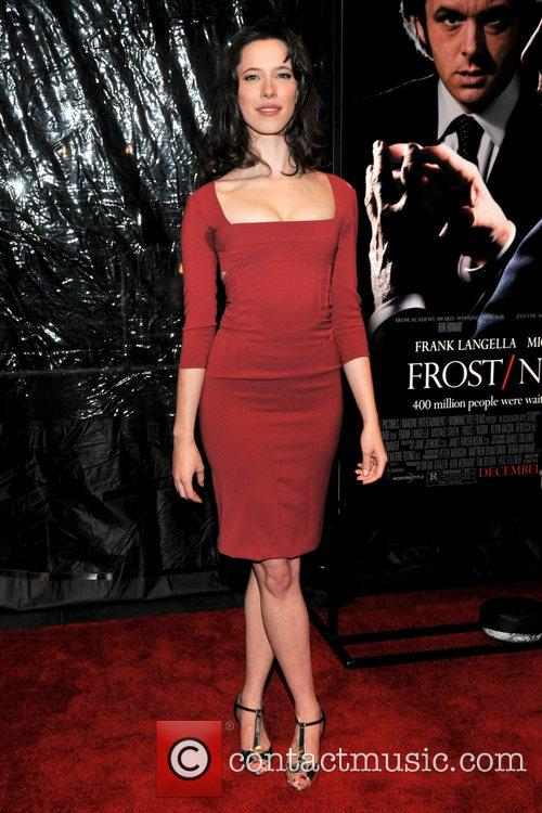 Rebecca Hall at the premiere of 'Frost/Nixon' at...