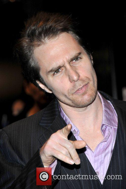 Sam Rockwell at the premiere of 'Frost/Nixon' at...