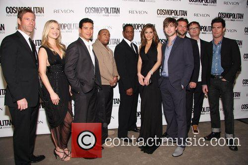 Aaron Eckhart, Blair Underwood, Fearless, Maria Menounos, Mario Lopez and Timbaland 4