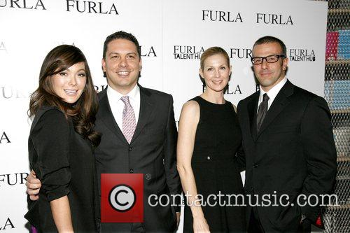 Lindsay Price, Tommaso Bruso, Kelly Rutherford and Michele...