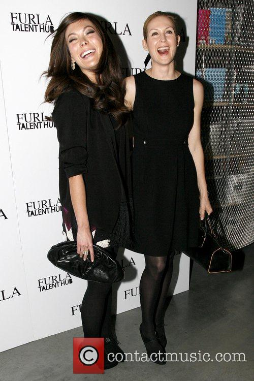Lindsay Price and Kelly Rutherford Furla Talent Hub's...