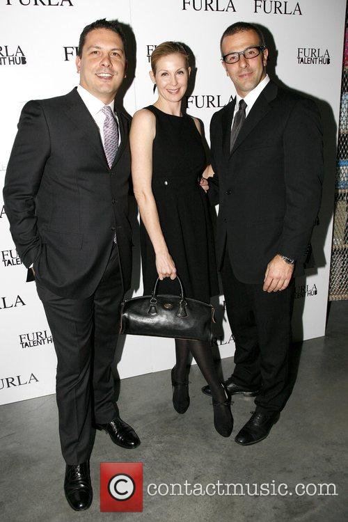 Tommaso Bruso, Kelly Rutherford and Michele Furlanetto Furla...