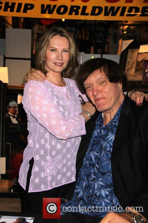 Richard Kiel and Maud Adams Appear At Gallery Of Legends 1