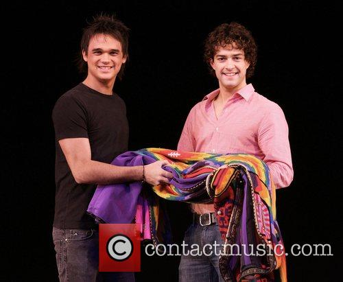 Gareth Gates and Lee Mead Gareth Gates is...