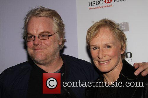 Philip Seymour Hoffman and Glenn Close Screening of...