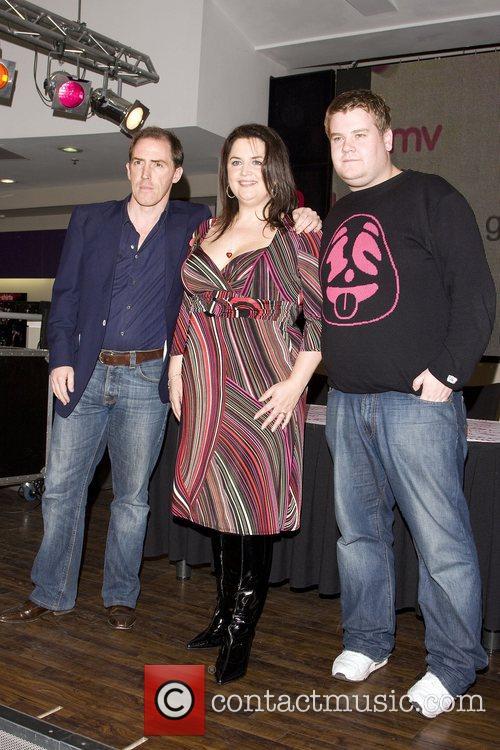 Rob Brydon, Ruth Jones and James Cordon 7