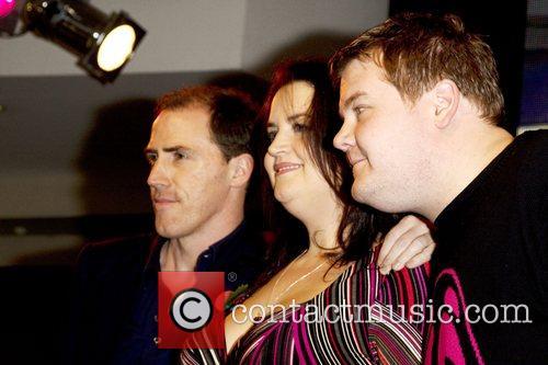 Rob Brydon, Ruth Jones and James Cordon 3