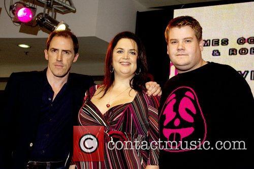 Rob Brydon, Ruth Jones and James Cordon 8