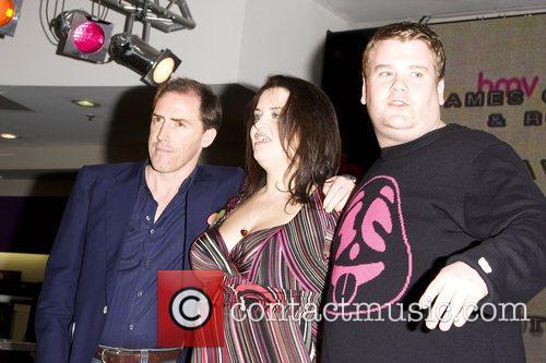 Rob Brydon, Ruth Jones and James Cordon 1