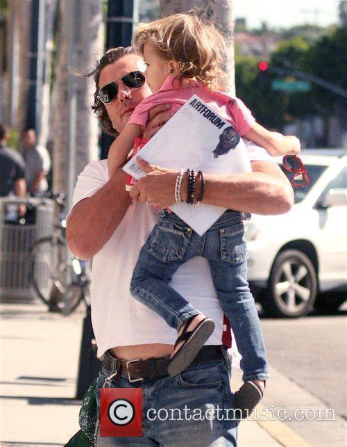 Gavin Rossdale and His Son Kingston 2