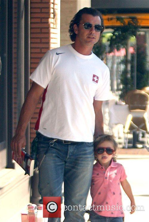 Gavin Rossdale and His Son Kingston 5