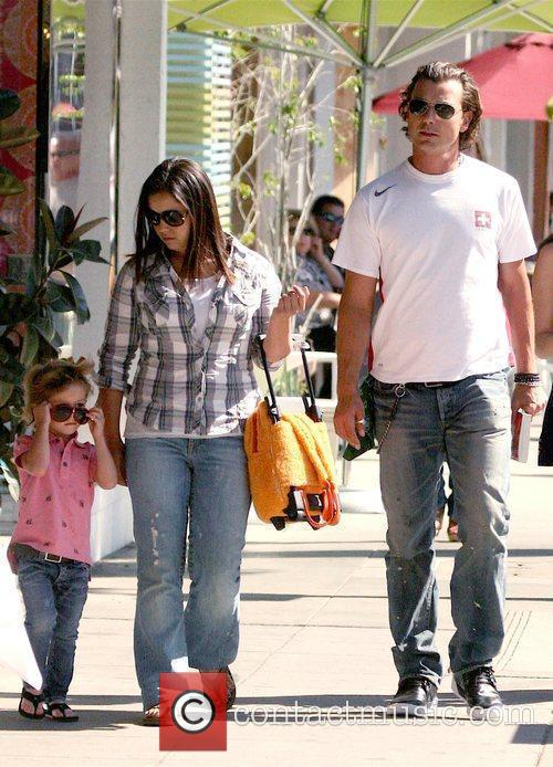 Gavin Rossdale and His Son Kingston 3