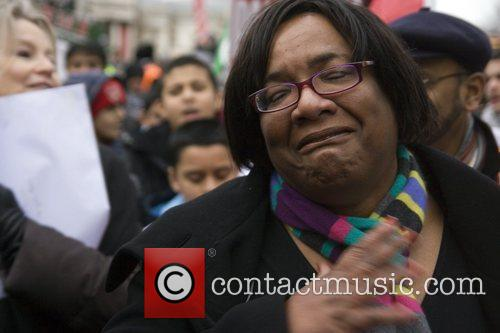 Diane Abbott MP joins the hundreds of people...