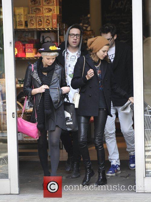 Nick Grimshaw, Alexa Chung and Pixie Geldof leave...