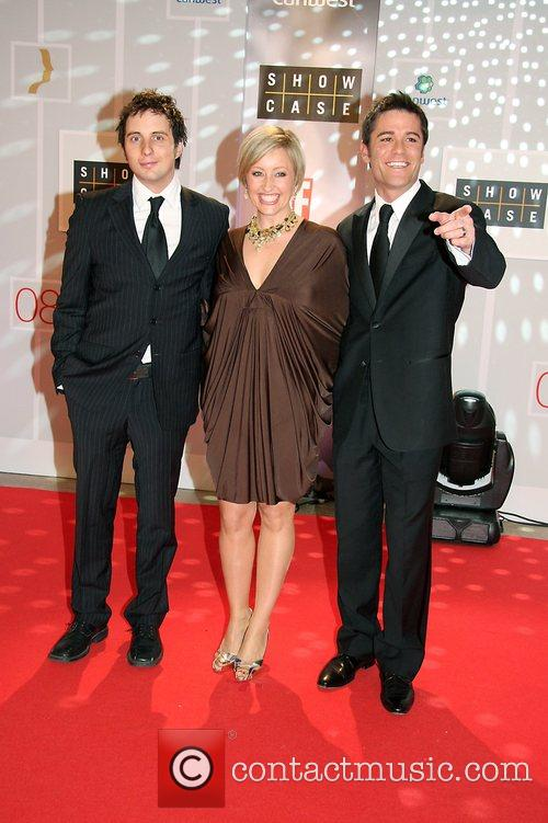Yannick Bisson, Chantal Craig and Johnny Harris 23rd...