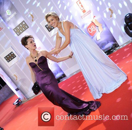 Natalie Brown (L) and Zoie Palmer (R) 23rd...