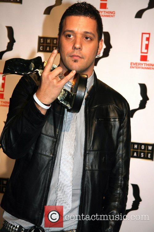 George Stroumboulopoulos, winner best host/Interviewer 23rd Annual Gemini...