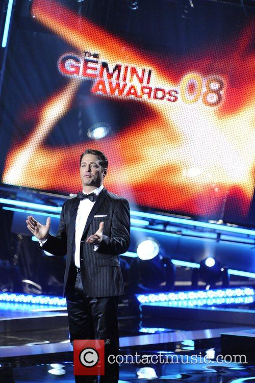 Jason Priestly hosting the 23rd Annual Gemini Awards...