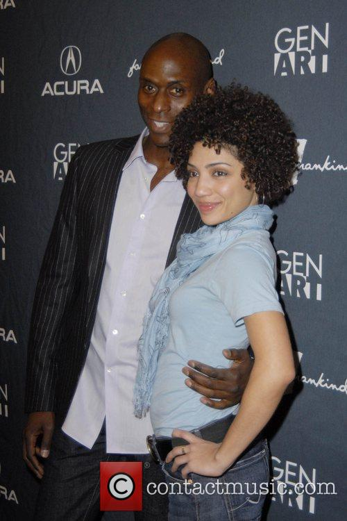 Lance Reddick and Jasika Nicole 1