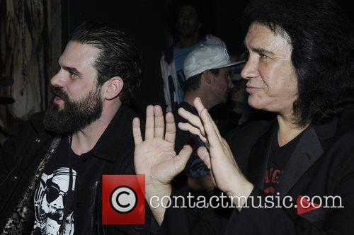 Jason Dussault and Gene Simmons  Moneybag clothing...