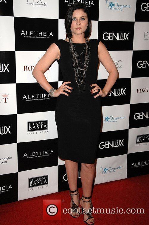 Jodie Lyn O'Keefe Genlux Magazine's Brit week designer...