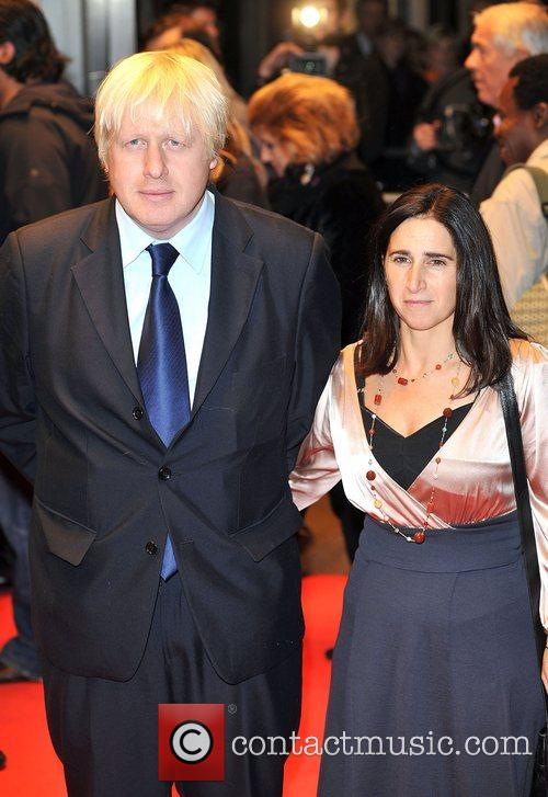 Boris Johnson and Marina Wheeler The Times BFI...