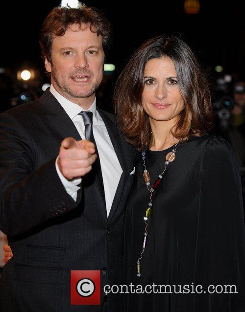 Colin Firth and Livia Giuggioli  The Times...