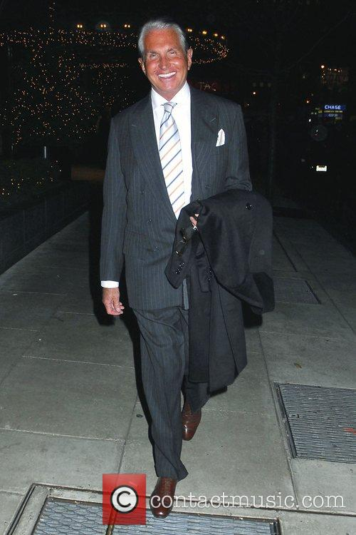 American film and television actor George Hamilton leaving...