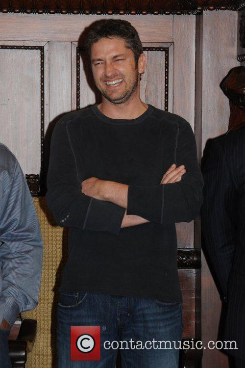 Gerard Butler Stars of the upcoming film, 'Law...