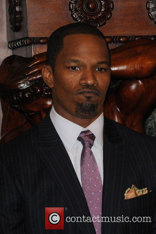 Jamie Foxx Stars of the upcoming film, 'Law...
