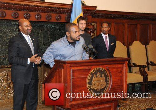 Mayor Michael Nutter, F. Gary Gray, Gerard Butler...