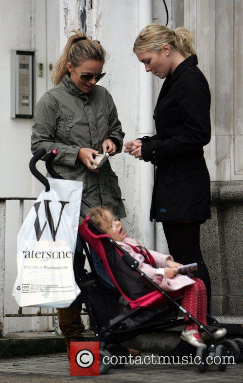 Out and about with her daughter Bluebell Madonna,...