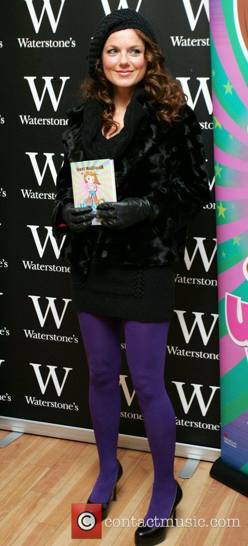 Signs copies of her Ugenie Lavender childrens book...