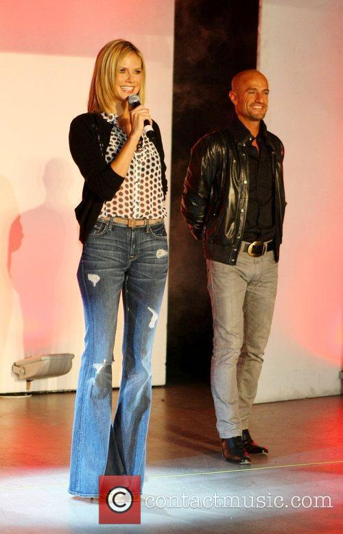 Heidi Klum and Peyman Amin Germany's Next Top...