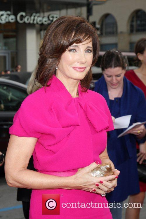 Anne Archer arriving at the Ghost of Girlfriends...