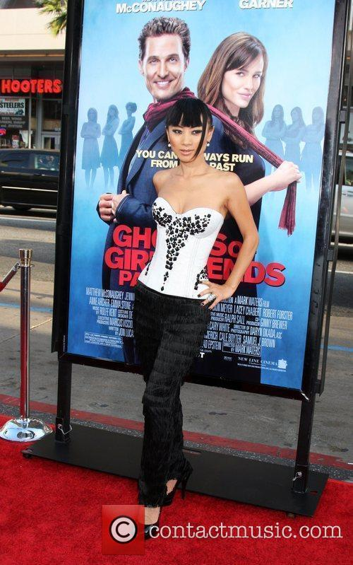 Bai Ling  arriving at the Ghost of...