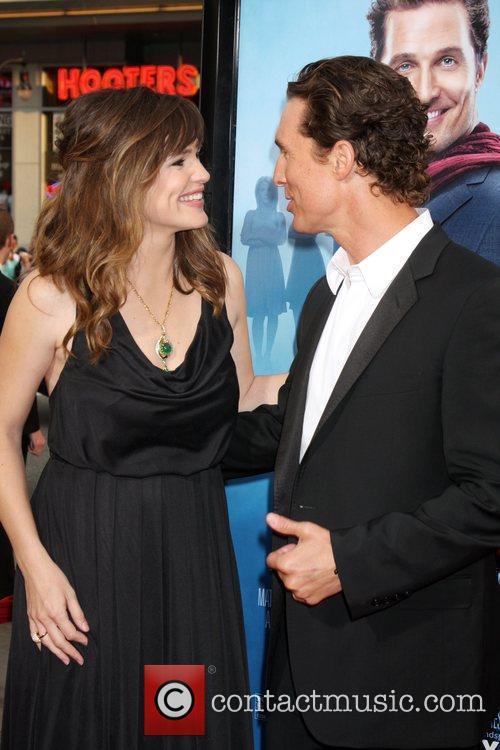 Jennifer Garner & Matthew McConaughey arriving at the...
