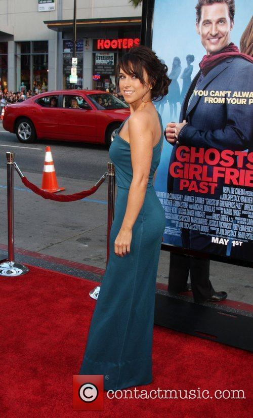 Lacey Chabert arriving at the Ghost of Girlfriends...