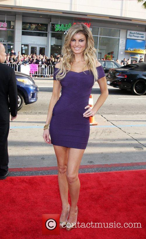 Marisa Miller arriving at the Ghost of Girlfriends...