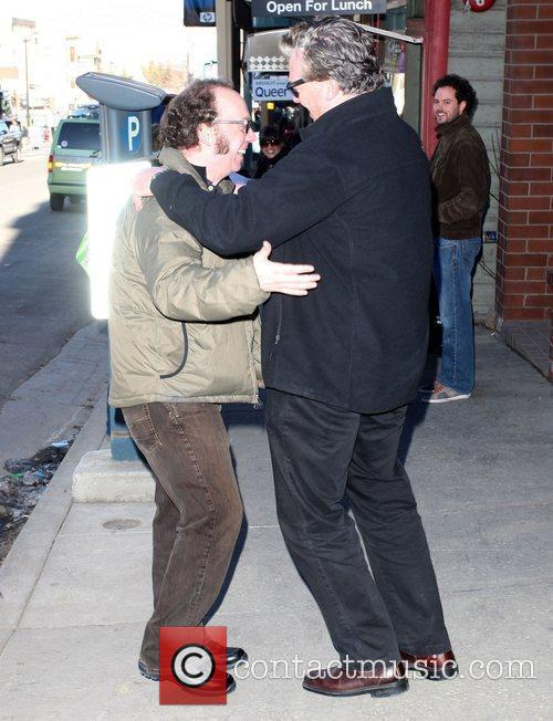 While out and about during the 2009 Sundance...