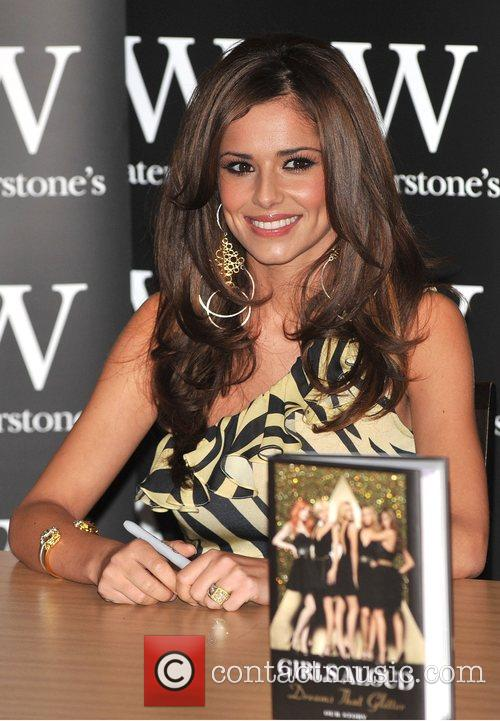 Cheryl Cole of Girls Aloud Signing their book...