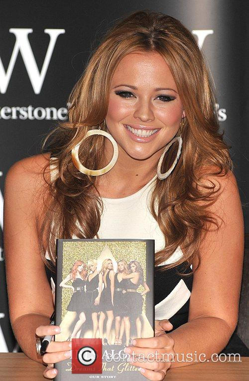Kimberley Walsh of Girls Aloud Signing their book...