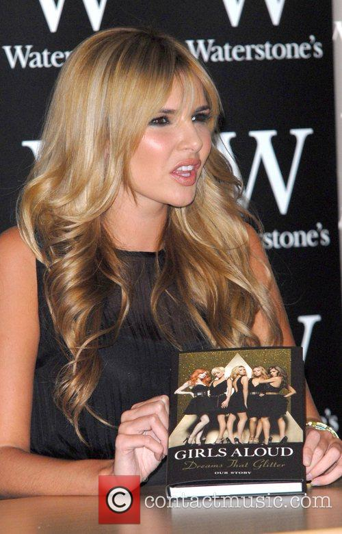 Nadine Coyle of Girls Aloud Signing their book...