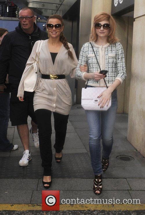 Kimberly Walsh and Nicola Roberts 6